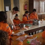 5)  les 4 ateliers-préparation du repas et de l'apéritif